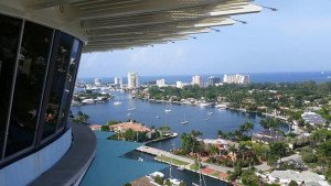 The 17th floor ballroom at Pier 66 offers an unparalleled view of Fort Lauderdale Beach.