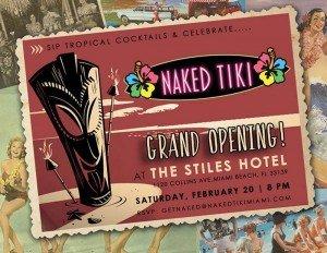 Naked Tiki grand opening