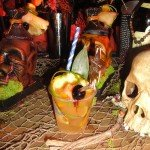 The Tsanta from Kreepy Tiki Lounge included pepper-infused Barbancourt 5 Star rhum, apricot liqueur and absinthe.