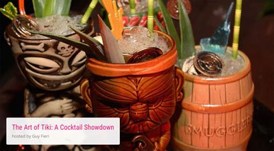 "The Art of Tiki: A Cocktail Showdown"" at the South Beach Wine & Food Festival"