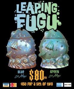 Doug Horne's Leaping Fugu mug