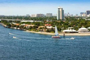 The Pier 66 hotel's iconic tower has overlooked the Intracoastal Waterway in Fort Lauderdale since 1965