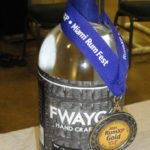 Fort Lauderdale's Fwaygo Rum made a splash with the best in class award for premium white rum.