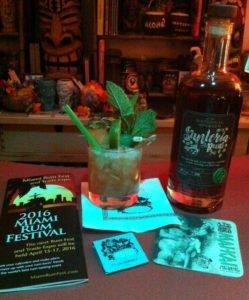 Santero's Elixir featuring Santeria Rum. (Photo by Hurricane Hayward, April 2016)