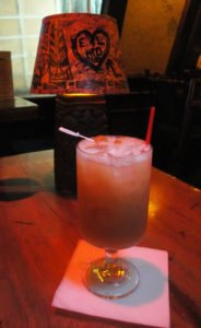 Santero's Elixir was the special Santeria Rum cocktail served at The Mai-Kai on Tuesday, April 12. (Photo by Hurricane Hayward)