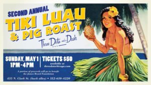 Tiki Luau & Pig Roast at Three Dots and a Dash