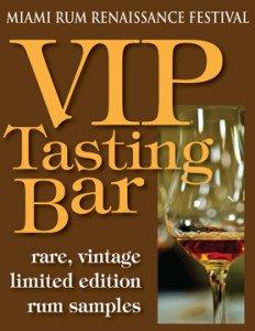 Miami Rum Renaissance Festival VIP Tasting Bar