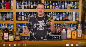 Rob V. Burr makes a Mai Tai during a recent episode of Rum Minute, a new YouTube channel.
