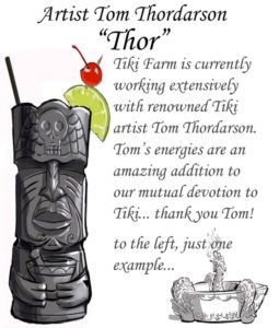 Thor joins Tiki Farm