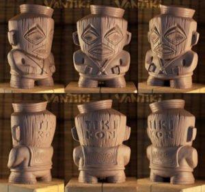 Tiki Kon's 2016 event mug by VanTiki.