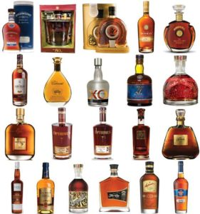 Some of the rums to be served in the VIP Tasting Bar at the Miami Rum Renaissance Festival