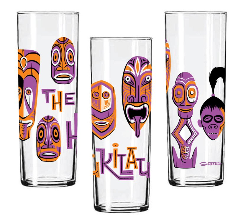 Shag's Mai-Kai artwork adorns the new Zombie glassware.