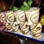 The Golden Tiki Bone White Mascot Mug