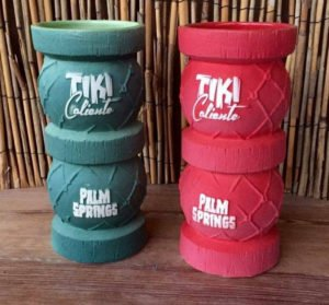 Tiki Caliente's Kuroshio Drifter mugs, designed by Doug Horne and manufactured by Eekum Bookum