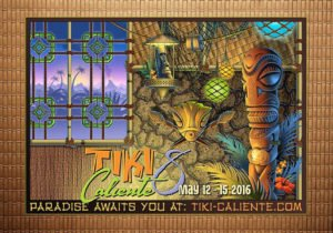 Tiki Caliente poster by Doug Horne
