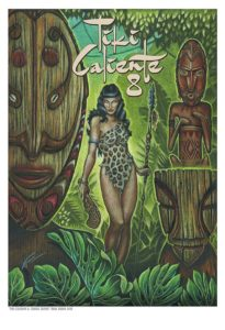 Official Tiki Caliente print by Doug Horne