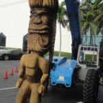 King Kai is readied for a final journey into the garden at The Mai-Kai on May 21.