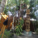 King Kai is ready for the special ceremony marking the Tiki's arrival in the garden at The Mai-Kai on May 22.