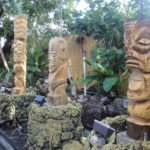 Three new Tikis carved by Will Anders, Tom Fowner and Jeff Chouinard were installed on May 28-29 and now greet guests in The Mai-Kai's porte-cochère.