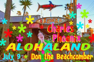 Charles Phoenix at Don the Beachcomber