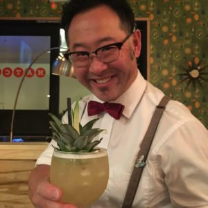 Mixologist Trevor Kawamoto at Hatch. (Facebook photo)