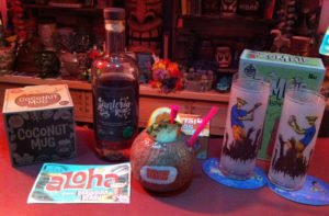 Koko Kahuna featuring Santeria Rum. (Photo by Hurricane Hayward, June 2016)