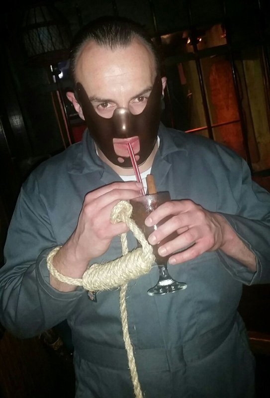 Hannibal Lecter enjoys a 151 Swizzle.