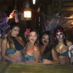 The Molokai Maidens got into the spirit of the event.