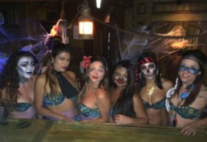 The Molokai Maidens got into the spirit of Hulaween