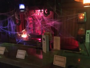 It was suitably spooky in The Molokai bar for Hulaween 2016.