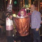 Accepting a bottle of 12-year-old rum from Charlie Kleinicke of Appleton, the first-place winners (Mai Tai and a Bottle of Rum) also took home $300 cash and a $50 Mai-Kai gift certificate.