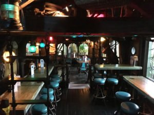 The Molokai bar at The Mai-Kai in October 2016. Much of the decor has remained the same since a 1971 refurbishment that included set pieces from the 1962 film 'Mutiny on the Bounty.' (Photo by Hurricane Hayward)