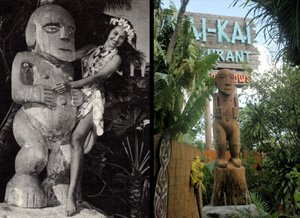 New giant carved Tiki added to The Mai-Kai's outdoor garden in time for 60th anniversary