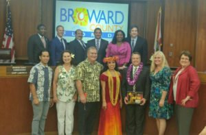 The owners and staff of The Mai-Kai were honored by the Broward County Commission on Dec. 13. (Photo provided by The Mai-Kai)