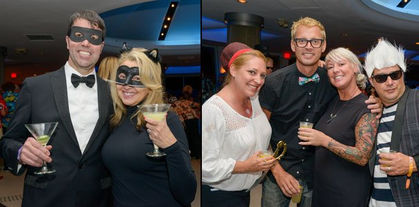 Shag fans enjoy cocktails at the unique meet-and-mingle in the Pier 66 skylounge. (Photos by Go11Events.com)