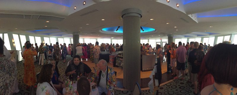 A panoramic view of the Pier Top Ballroom. (Photo by Kevin Upthegrove)