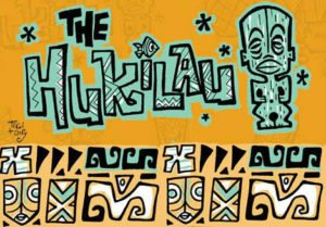The Hukilau 2017, artwork by Tiki Tony