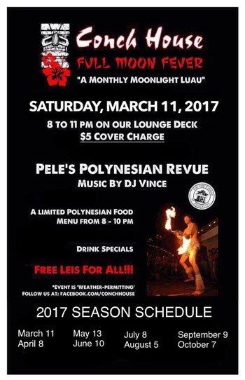 Full Moon Fever: Monthly Moonlight Luau
