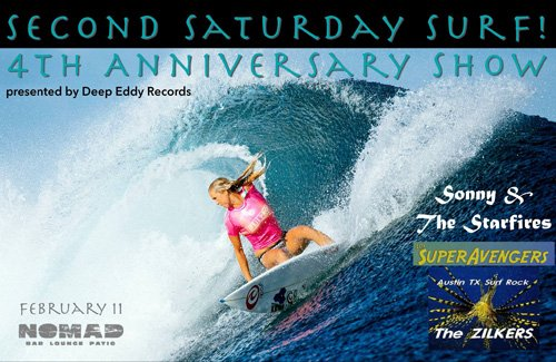 Second Saturday Surf fourth anniversary party