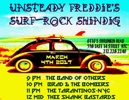 Unsteady Freddie's Surf-Rock Shindig