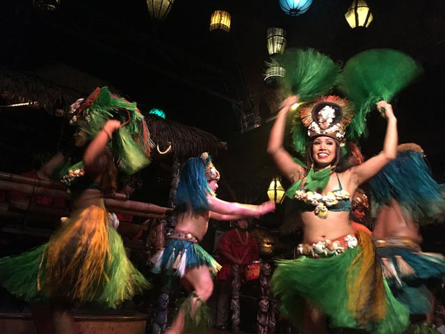 The Polynesian Islander Revue performs at The Mai-Kai's 60th anniversary celebration on Dec. 28, 2016. (Atomic Grog photo)