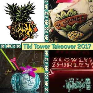 The Tiki Tower Takeover at The Hukilau 2017