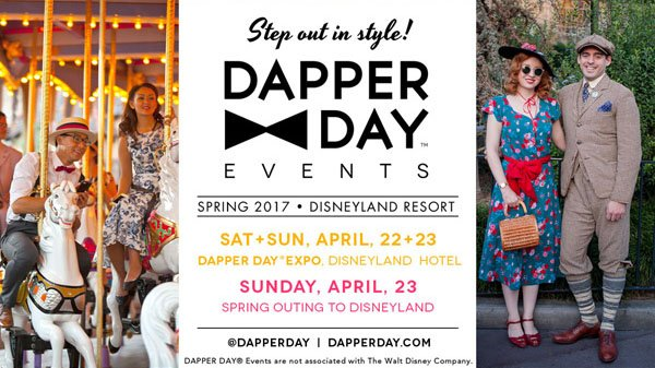 Dapper Day Expo at Disneyland