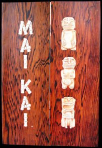 An early Mai-Kai menu