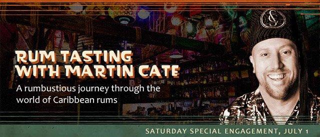 Rum Class with Martin Cate at Tiki Kon 2017