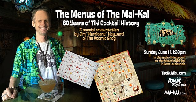 The Menus of The Mai-Kai: 60 Years of Tiki Cocktail History