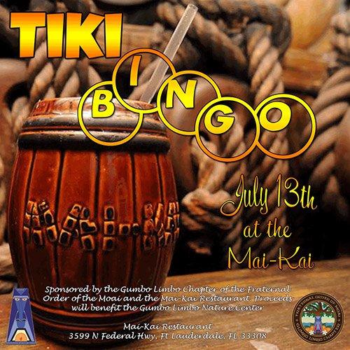Tiki Bingo at The Mai-Kai