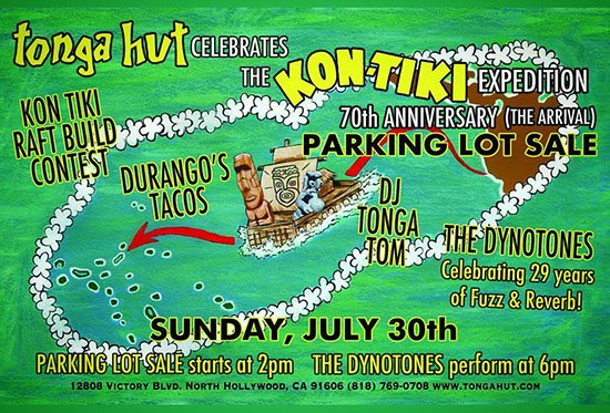 Parking Lot Sale and Art Show: Kon-Tiki Expedition