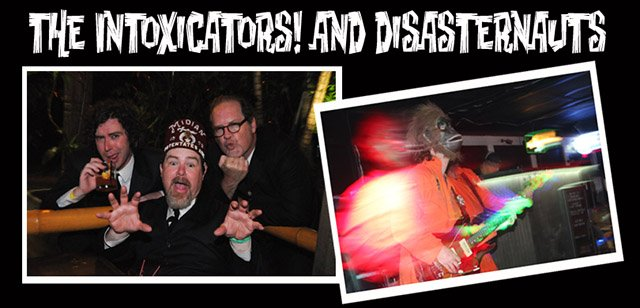 Surf Rock at The Mai-Kai featuring The Intoxicators and Disasternauts
