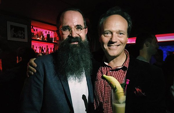 Paul McGee of Lost Lake (left) and Alexandre Gabriel of Plantation Rum